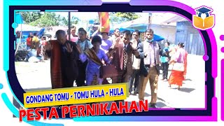 Gondang Tomu - tomu Hula - hula | Pernikahan Adat Batak