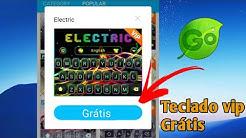 Tutorial: Usar Teclados VIPs do Go Keyboard de Graça (menos de 5min)