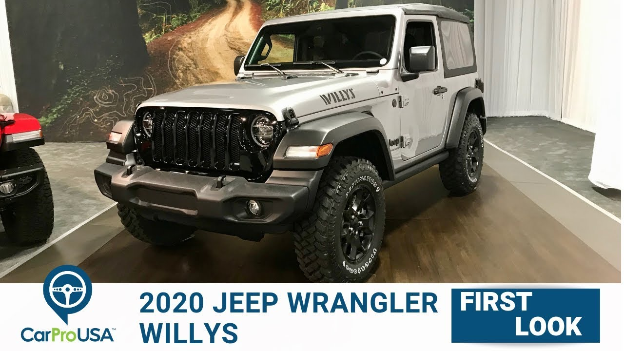 2020 Jeep Wrangler Willys First Look Youtube