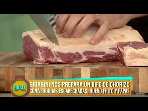 Receta: Gran bife de chorizo - Morfi
