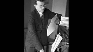 Shostakovich plays his own Piano Concerto No 2  (1st movement - 1958)