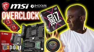 Video MSI X299 Gaming M7 ACK Motherboard 7820X 5Ghz Overclock & Benchmarks download MP3, 3GP, MP4, WEBM, AVI, FLV Juli 2018