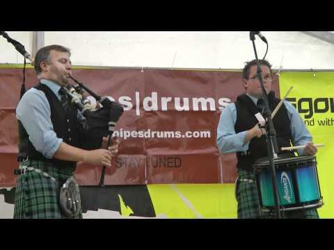 Stuart Liddell & Steve McWhirter (3 of 3) - Piping Live 2011