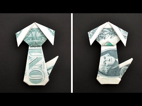 My MONEY DOG | Dollar Animal Origami | Tutorial DIY By NProkuda