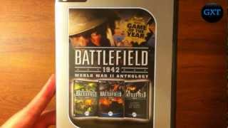 (BF) Battlefield 1942 COMPLETE COLLECTION Video Game Unboxing-Overview HD 720P