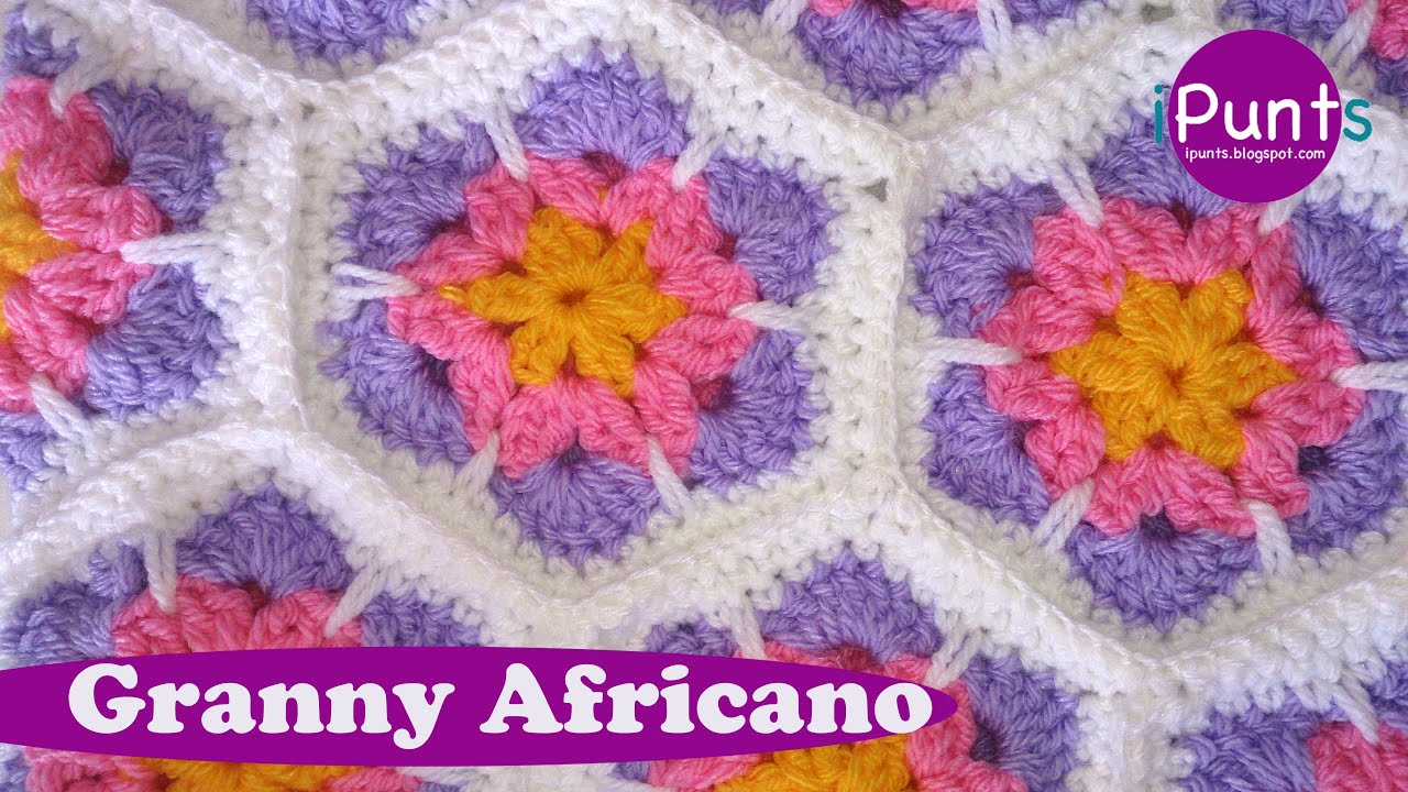 Granny Africano crochet