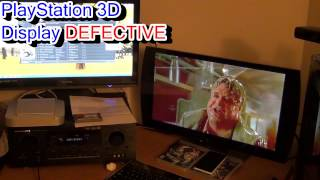 PlayStation 3D Display DEFECTIVE