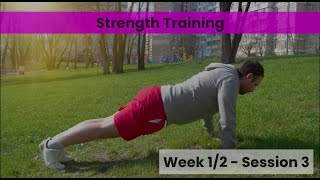 Strength - Week 1/2 Session 3 (Control)