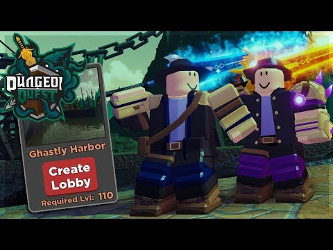 HOW TO BEAT GHASTLY HARBOR WITH CANAL GEAR IN DUNGEON QUEST ROBLOX