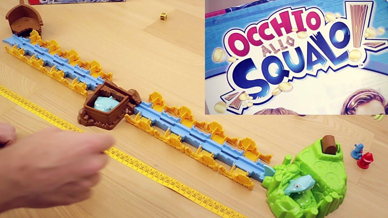 Tavoli Da Gioco Per Bambini : Occhio allo squalo gioco da tavolo di pirati e tesori gameplay