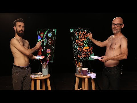 Moby Paints Shirtless with The Shirtless Painter
