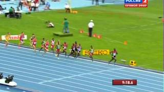 Вторая золотая медель Мо Фарах на чемпионате мира в москве в беге на 5000м