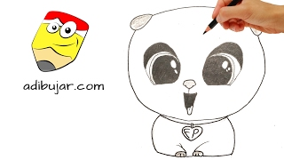 Cómo dibujar el Eterno Cachorro (Bebé jefazo) | How to draw Forever Puppy (Boss Baby)
