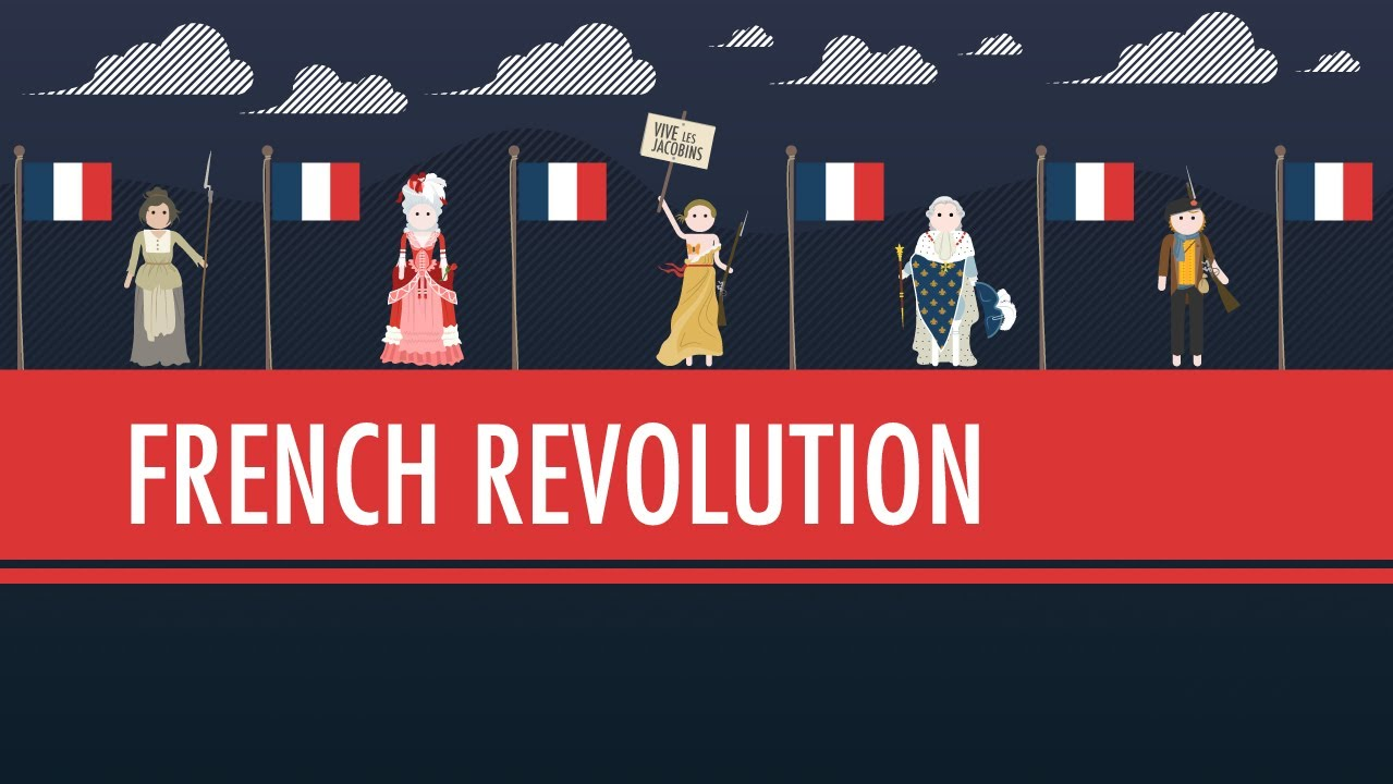 The french revolution crash course world history 29 youtube for Poster revolution france
