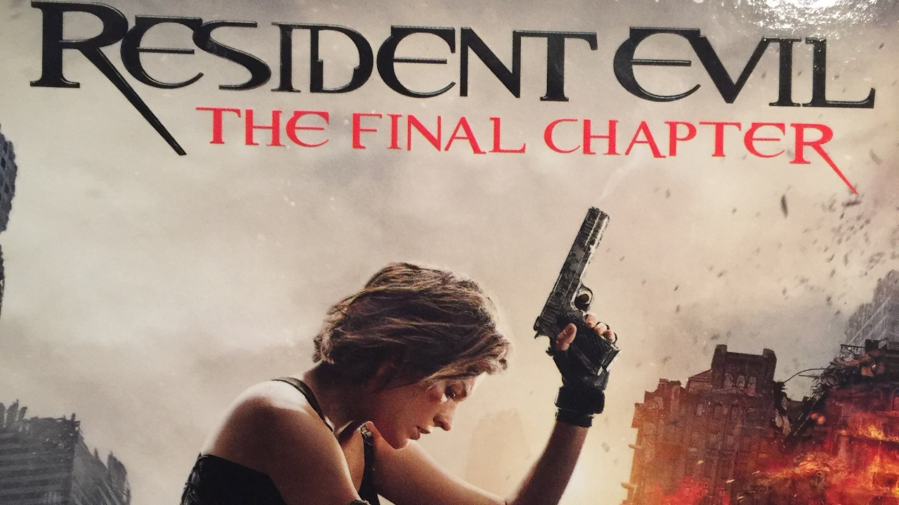 Resident evil the final chapter 4k bluray unboxing youtube - Resident evil final chapter 4k ...