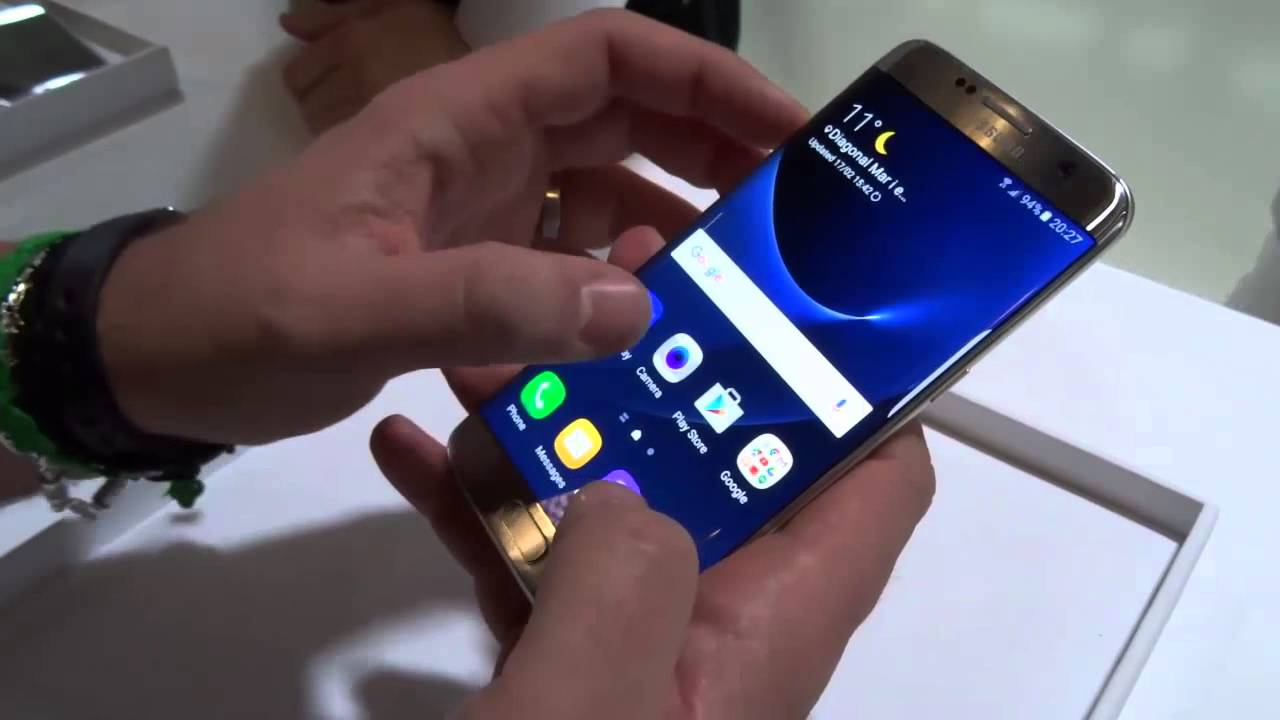 Samsung galaxy s7 ed s7 edge la nostra anteprima mwc 2016 foto e - Samsung Galaxy S7 E S7 Edge Video Anteprima In Italiano Mwc 2016 Youtube