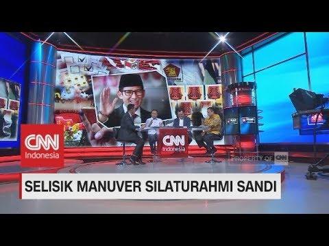 Disebut Bisa 'Bajak' Pendukung Jokowi, Pengamat: Safari Politik Sandi Bisa Ubah Persepsi Publik