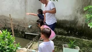 Cùng theo chân Rio, Cherry, Sunny, Mio cho cá ăn
