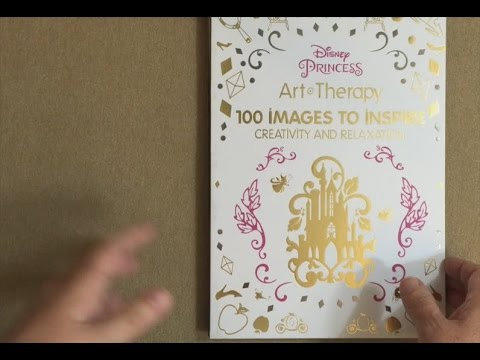 Art Of Coloring Disney Princess: 100 Images To Inspire Creativity And  Relaxation Flip Through - YouTube