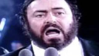 """Luciano Pavarotti Big Luciano """"Nessun Dorma"""" Turandot Puccini"""