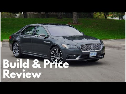 2019 Lincoln Continental Reserve - Build & Price Review: Features, Interior, Colors, Specs, Trims