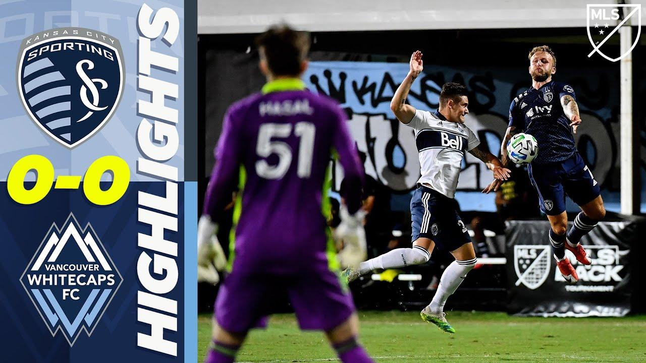 Спортинг Канзас-Сити  0-0  Ванкувер Уайткэпс видео