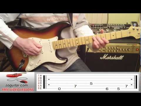 How To Play Enter Sandman by Metallica on Guitar (intro) + TAB