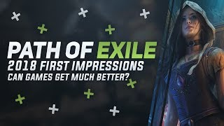 Path Of Exile 2018 Impressions - Why I Believe It's The Best Moarpg