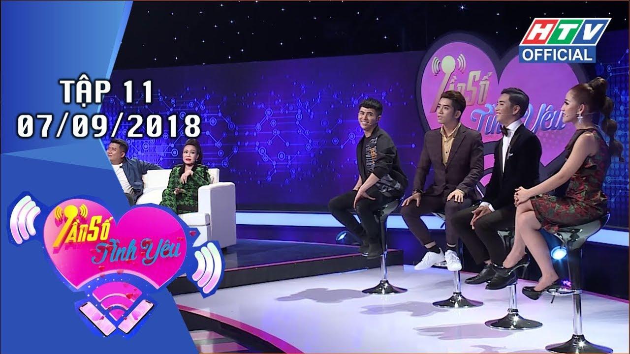 image HTV TẦN SỐ TÌNH YÊU | Puka - Diệp Tiên không ngần ngại thể hiện tình cảm | TSTY #11 FULL | 7/9/2018
