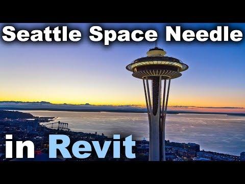Seattle Space Needle In Revit Tutorial