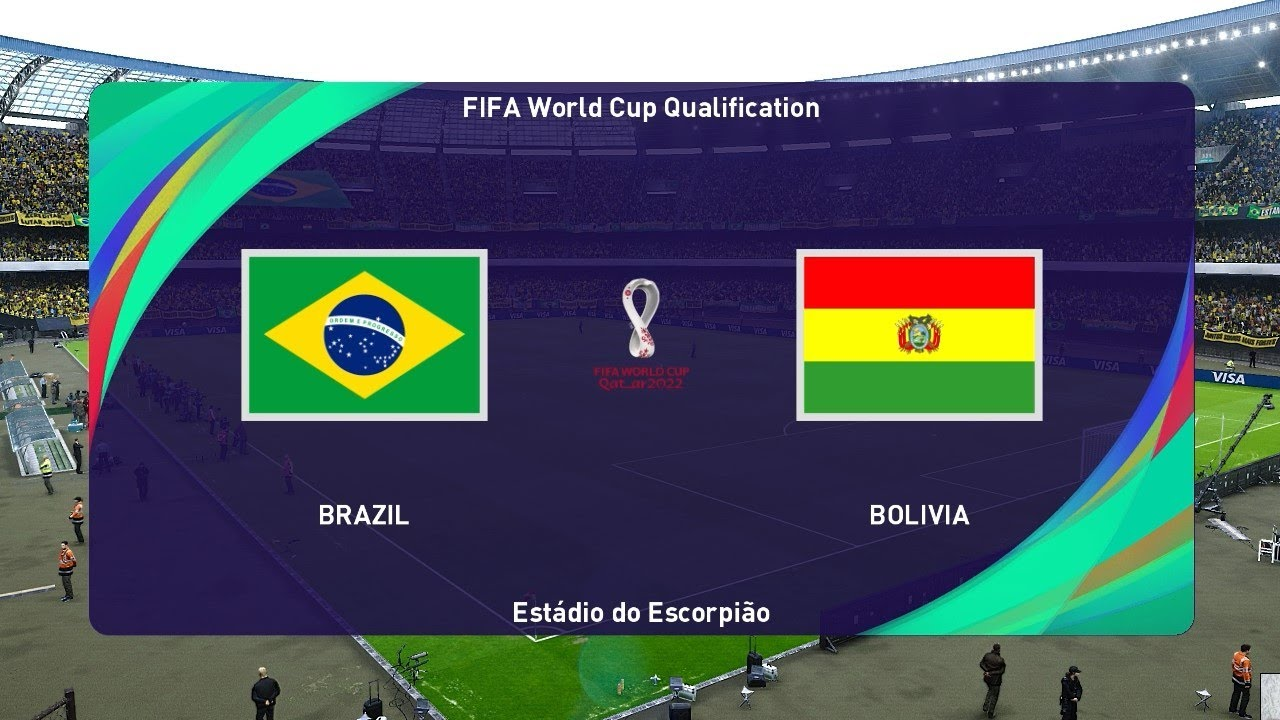 BRAZIL vs BOLIVIA | FIFA WORLD CUP Qualification | PES 2021 Gameplay PC -  YouTube