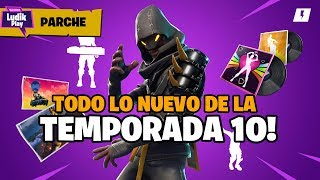 SEASON 10 IS HERE! FORTNITE SAVE THE WORLD PATCH NOTES