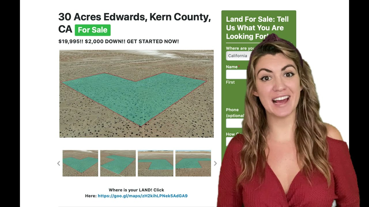 30 Acres Edwards Property in Kern County, CA