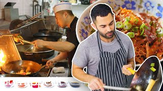 Andy Learns How to Cook Sichuan Food | Bon Appétit