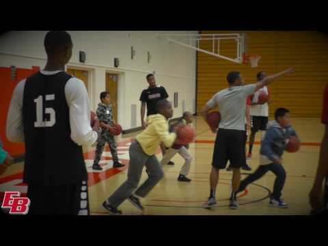 Pioneer Men's Hoops Inspire Youth of Think College Now