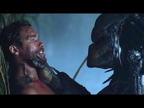 5分钟看�年经典科幻片《铁血战士》施瓦辛格大战铁血战士