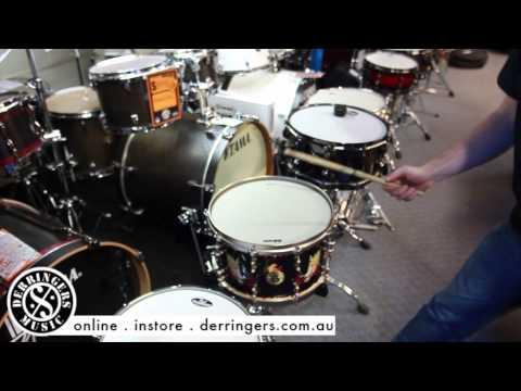 Moongel Drum Kit Snare Drum Dampening Review @ The Drum Shop Derringers Music