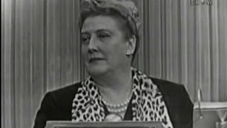[22.54 MB] What's My Line? - Helen Traubel; Wally Cox [panel] (Feb 28, 1954)