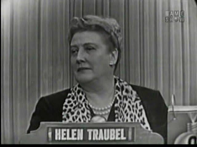 Fabulous Friday: Mystery Guest, Helen Traubel