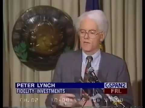 Peter Lynch lecture on Investments and How the Average Investor can pick Stocks