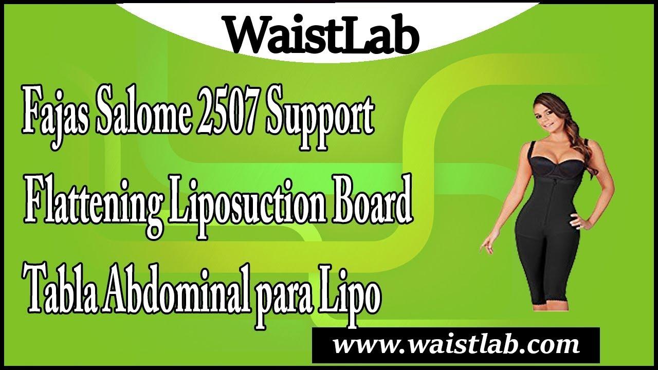 105912e2d1 Fajas Salome 2507 Support Flattening Liposuction Board Tabla ...