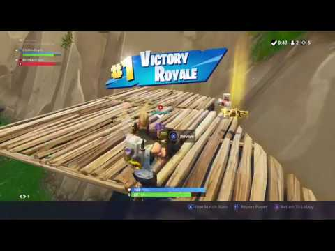 NEW VICTORY ROYALE SLOW MOTION WIN SCREEN! FORTNITE