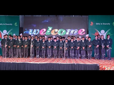 Welcome Song - 1st Annual function (2015-16) | Delhi Public School Sirsa .