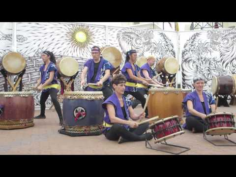 Uzushio played by Fushicho Daiko at Arizona Matsuri 2015 Sunday