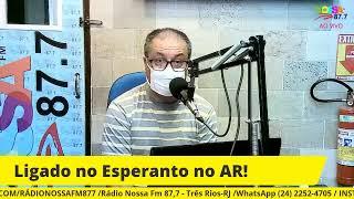 LIGADO NO ESPERANTO! 18/04/2021