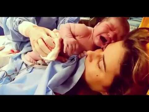 Parto Cesária  - Daniel - Bebê grande