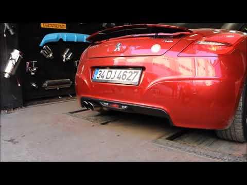 Peugeot Rcz 1.6i Thp, Kumandalı Varex Egzoz Sesi