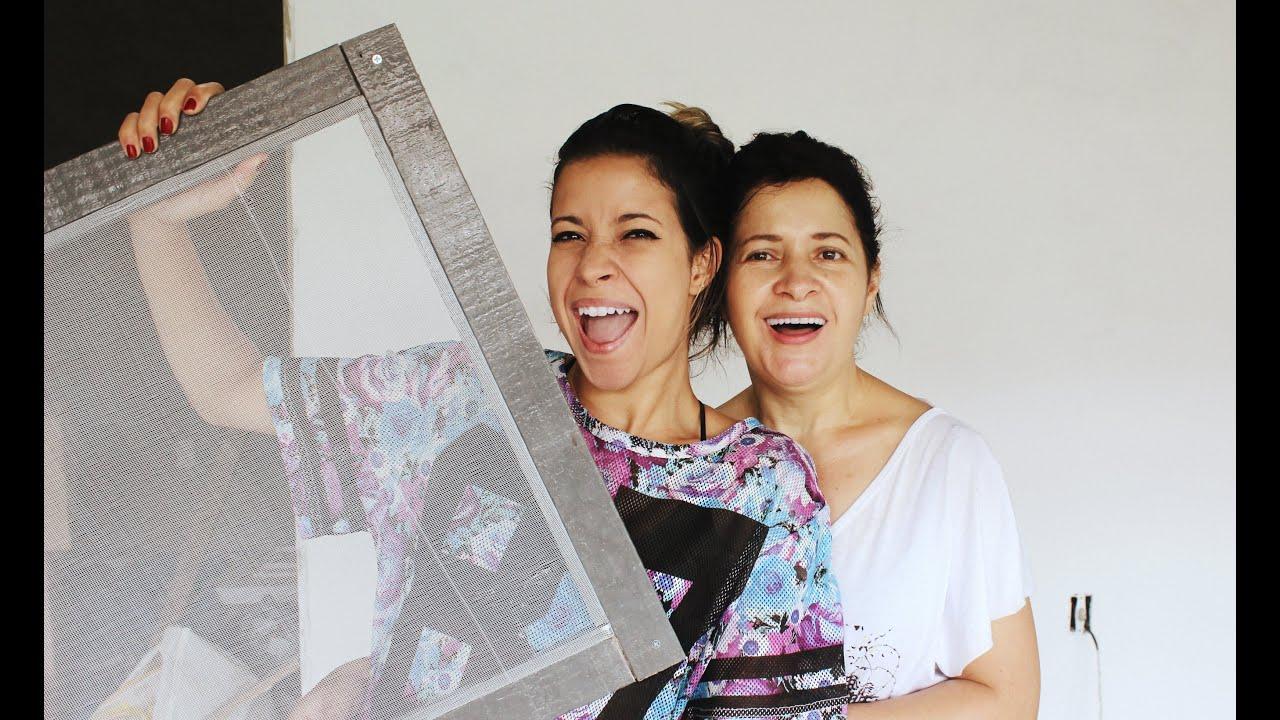 Fabuloso DIY: TELA DE PROTEÇÃO P/ JANELA CONTRA MOSQUITOS/INSETOS - YouTube YR56