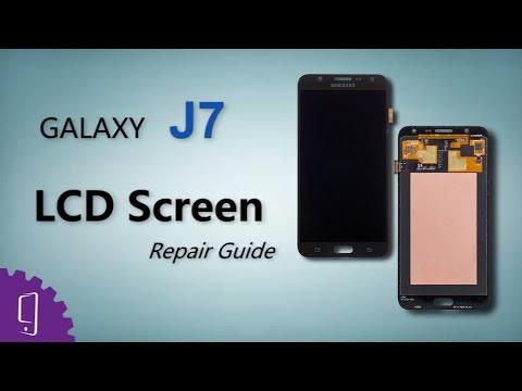 ea5d14bd6d Samsung Galaxy J7 LCD Screen Repair Guide - YouTube