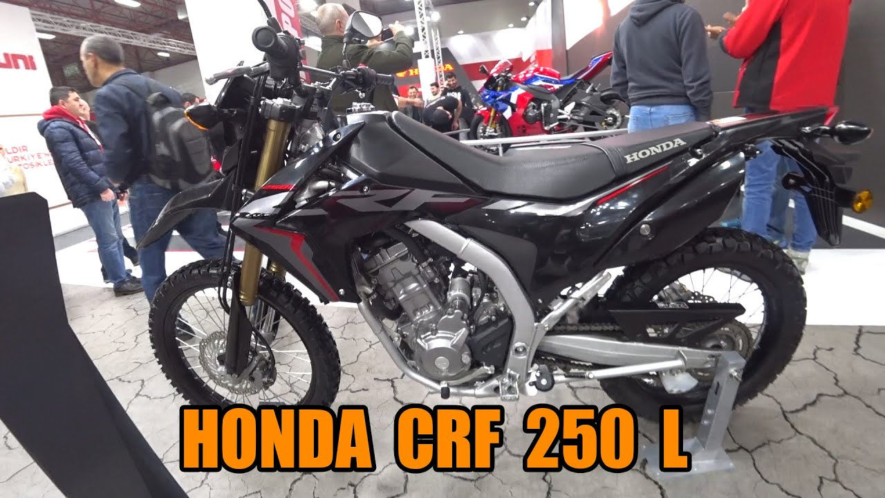 Honda Crf250l 2020 Motobike Youtube